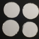 FINAL CLEARANCE Large 30mm Round Indian Glass Shisha (Sheesha) Mirrors x 8.